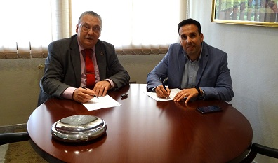Firma del acuerdo entre COITGAS y f2e