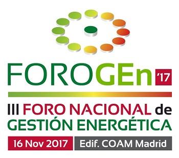 Logo del III Foro Nacional de Gesti?n Energ?tica - FOROGEn 2017