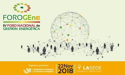IV Foro Nacional de Gestión Energética - FOROGEn 2018