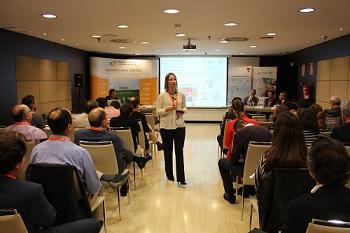 Sonia Montero, de GBCE, en la Jornada A3e sobre Calidad del Ambiente Interior