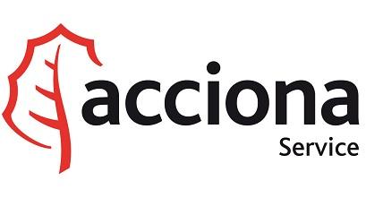logotipo de Acciona Service