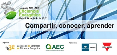Jornada Eficiencia Energ?tica A3e - AEC 20 de junio