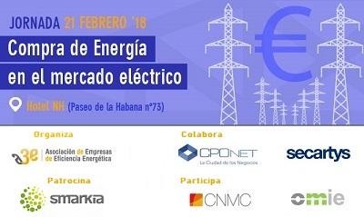 Banner jornada A3e Compra de Energ?a en el Mercado El?ctrico