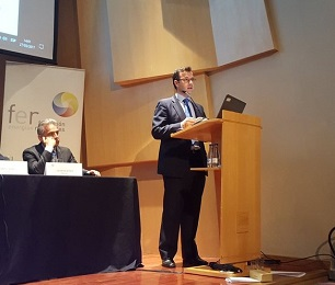 Rodrigo Morell en la jornada de la Fundaci�n Renovables