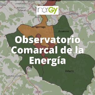 Mapa del Observatorio Comarcal de la Energ�a de INERGY