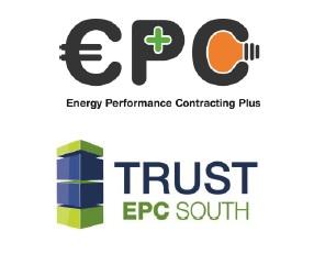 Logotipos de los proyectos EPC+ y Trust EPC South